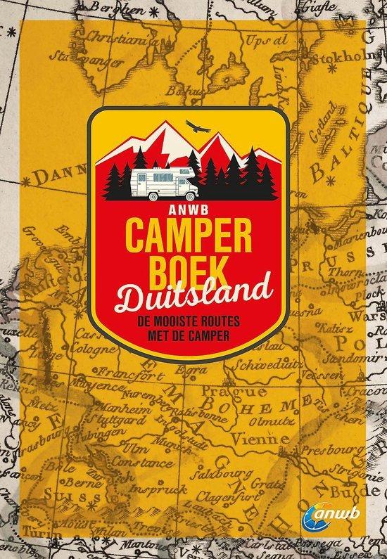 Boek cover ANWB  -   Camperboek Duitsland van ANWB (Paperback)