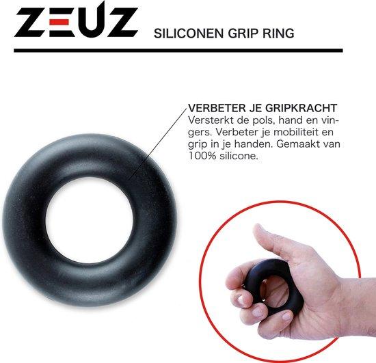 ZEUZ® 5-Delige Fitness Handtrainer Set – Trainer voor Hand, Onderarm, Pols & Vingers – Stressbal, Knijphalter, Stretcher & Grip bal – Anti RSI