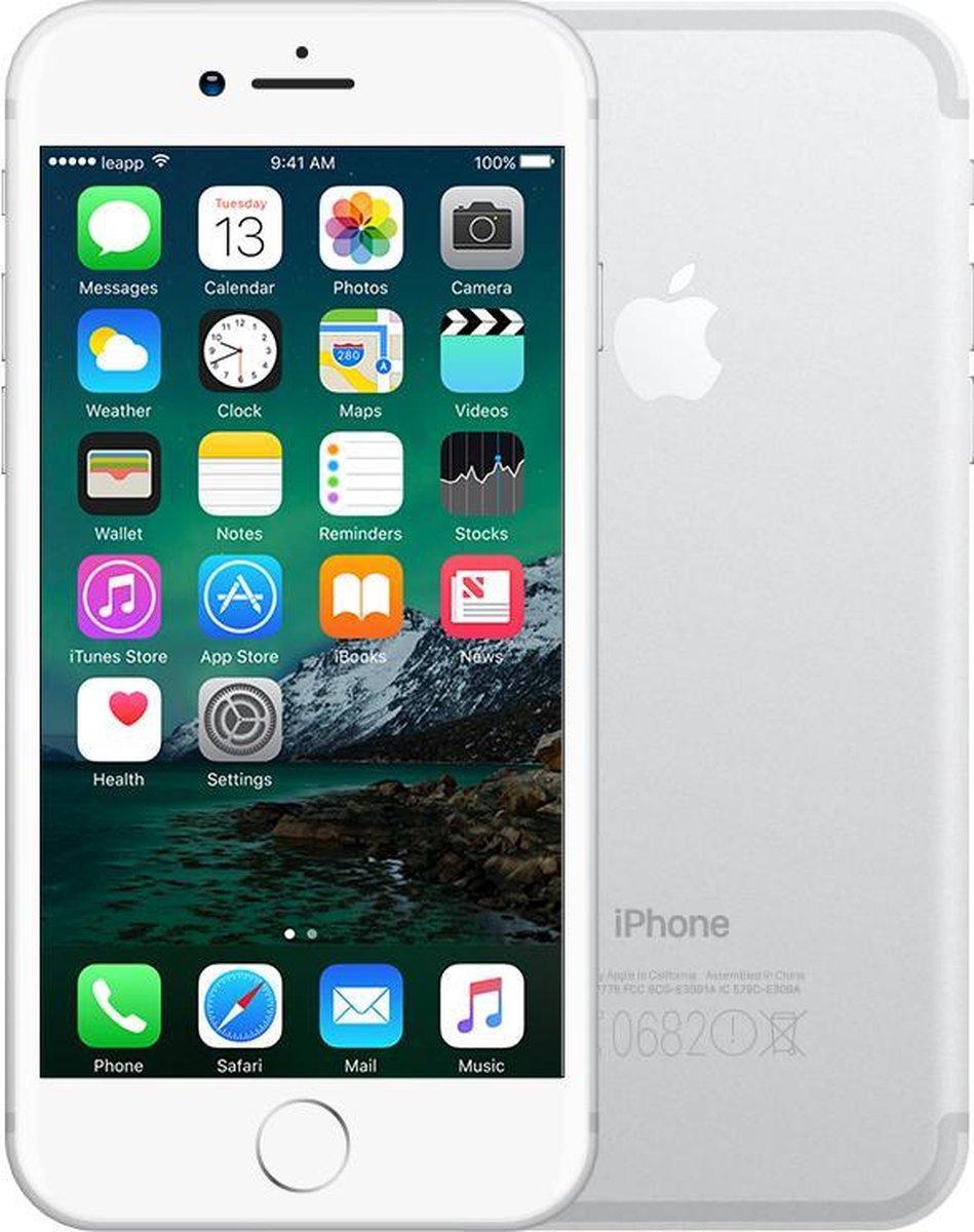 Apple iPhone 7 - Refurbished door Leapp - C grade (Zichtbare gebruikssporen) - 128GB - Zilver