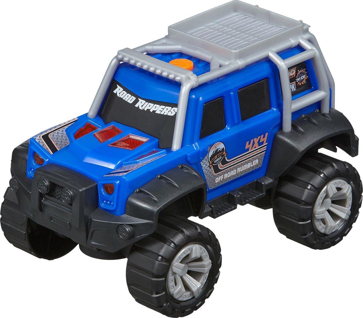 Nikko - Road Rippers Auto Off Road Rumbler: Deep Blue