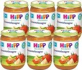 HiPP BIO maaltijd vanaf 8 maanden - (Vegetarisch) Groentelasagne - 6 stuks190gr