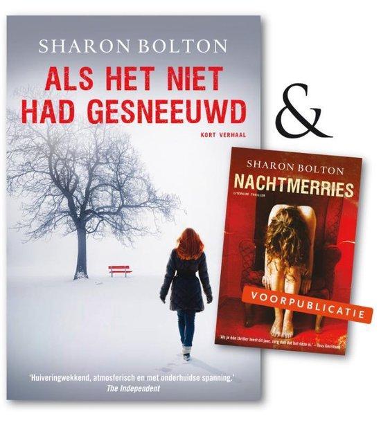 Boek cover Als het niet had gesneeuwd van Sharon Bolton