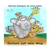 Elefant Auf Dem Weg