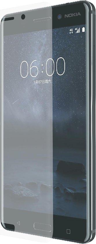 Azuri 2x Curved Tempered Glass RINOX ARMOR  - voor Nokia 6