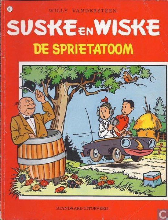 Sprietatoom klassieke reeks - Willy Vandersteen pdf epub