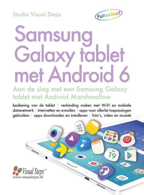 Samsung galaxy tablet met Android 6 - Studio Visual Steps |