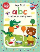 Boek cover My First abc Sticker Activity Book van Jannie Ho