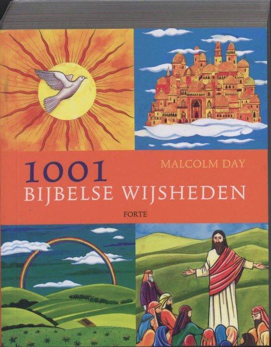 Cover van het boek '1001 bijbelse wijsheden' van M. Day