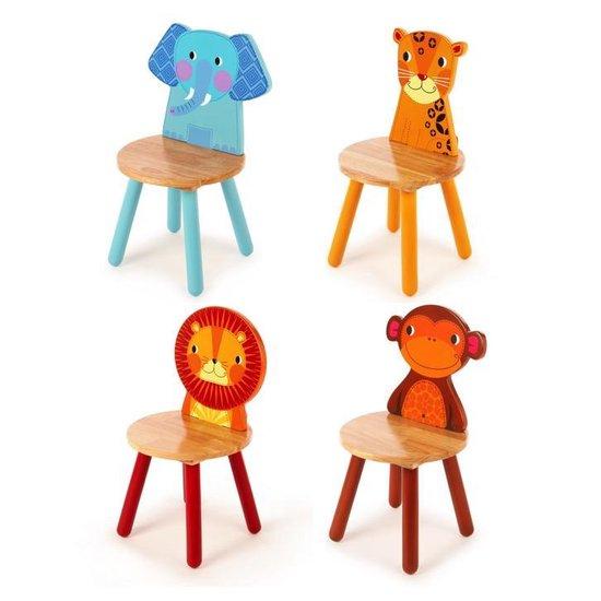 Tidlo Houten Kinderstoel Aap | Eenvoudig bestellen! Het