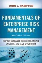 Boek cover Fundamentals of Enterprise Risk Management van John Hampton