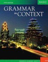 International Student Edition Grammar in Context Basic