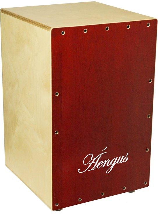 "Áengus Cajon 18"" rood – zithoogte 48 cm - incl. gevoerde hoes"