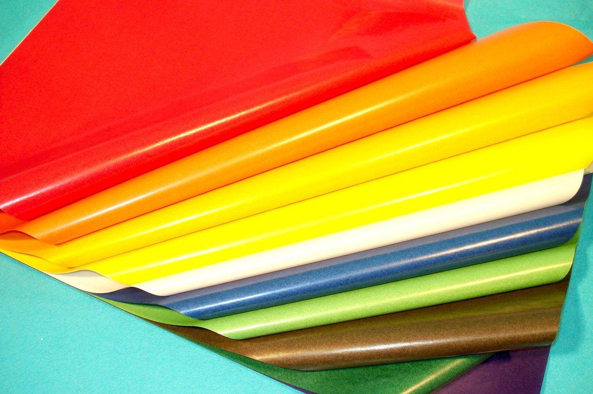 Vliegerpapier op blok in 10 kleuren 35x50cm -