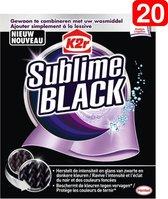 K2R Sublime Black Kleurdoekjes - 20 Stuks