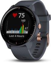 Garmin Vivoactive 3 Music - Smartwatch - 43 mm - Graniet Blauw