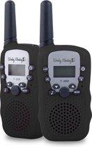 Wonkey Monkey WT-335BL Walkie Talkie 3km bereik 10 oproeptonen zwart