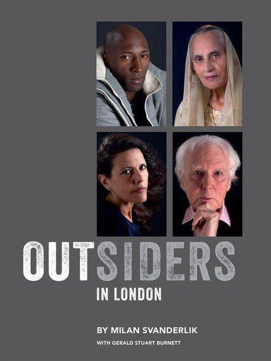 Boek cover Outsiders in London van Gerald S Burnett (Onbekend)