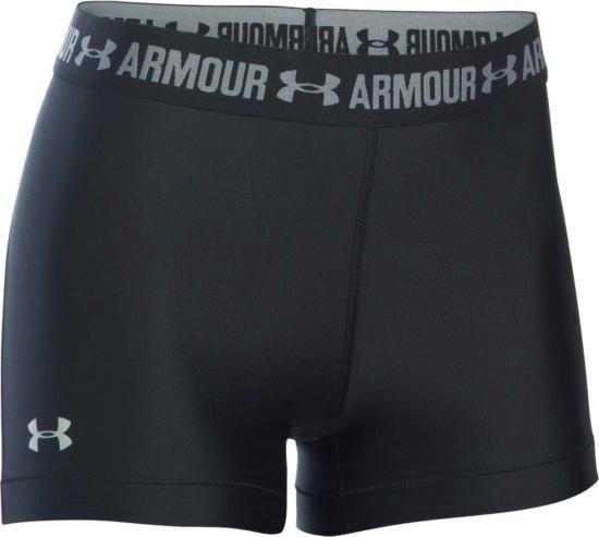 Under Armour UA HG Armour Shorty - Sportbroek - Black - Dames - Maat L