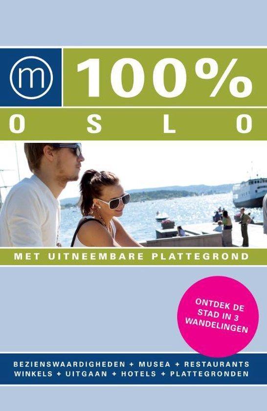 Cover van het boek '100% Oslo'