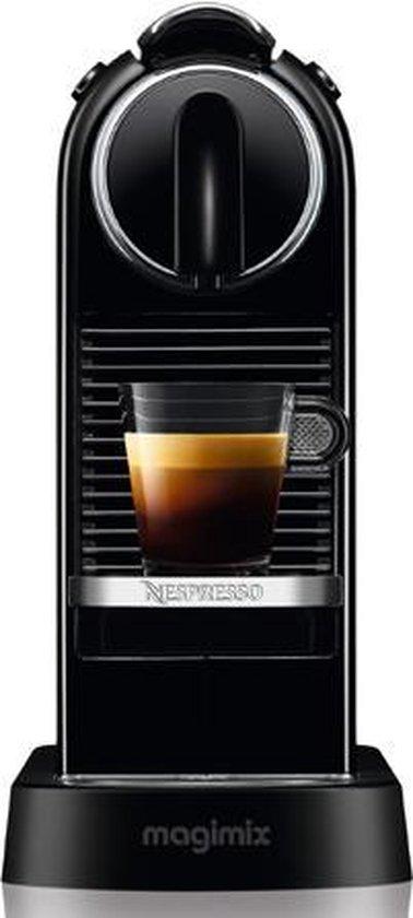 Nespresso Magimix CitiZ M195 - Koffiecupmachine - Limousine black