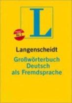 Langenscheidts Grossworterbuch Deutsch Als Fremdsprache