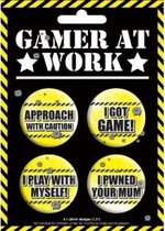 Games at Work buttons - Badge Pack