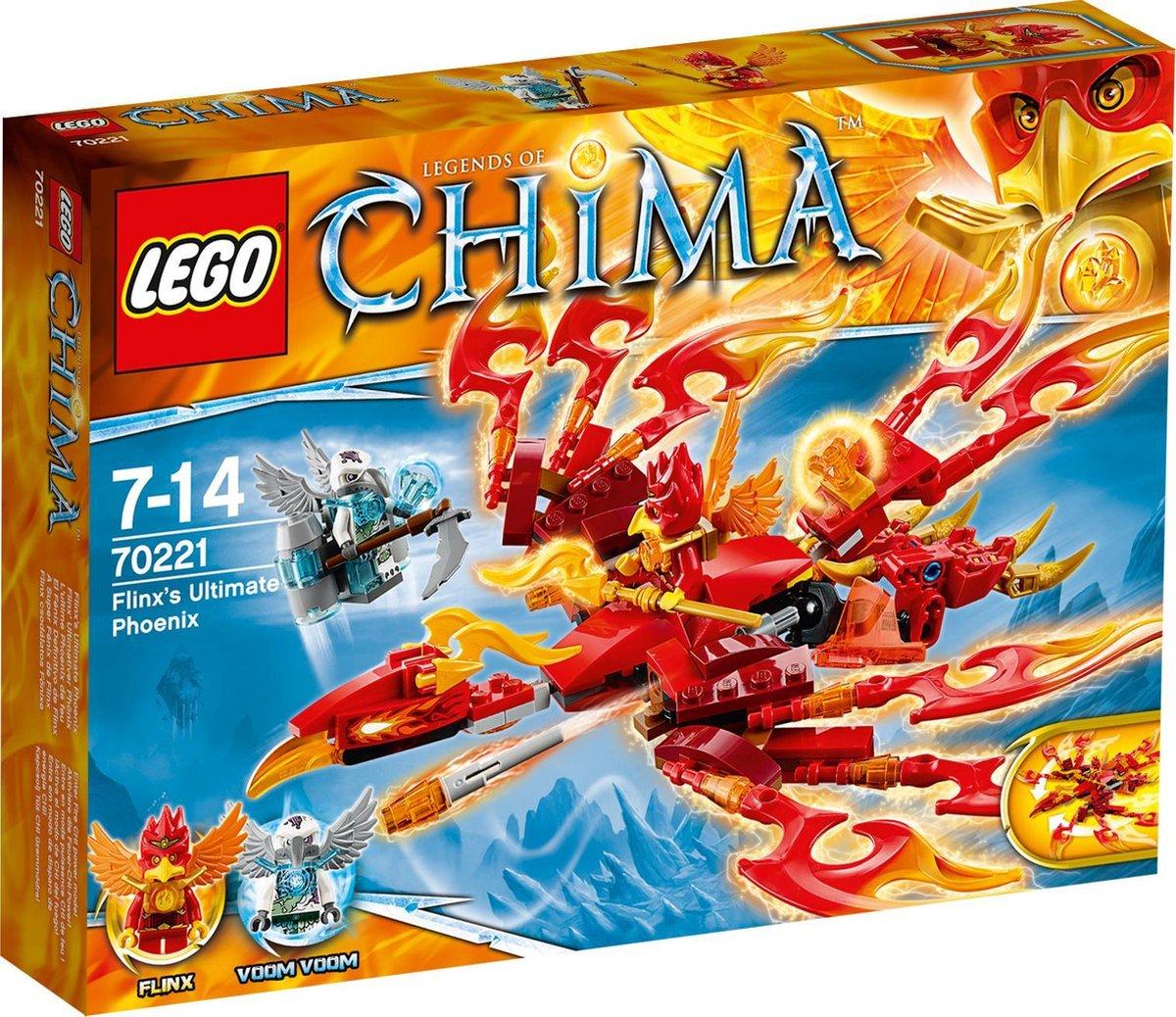LEGO Chima Flinx?s Ultieme Phoenix - 70221