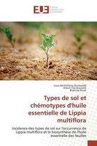 Types de Sol Et Ch motypes Dhuile Essentielle de Lippia Multiflora