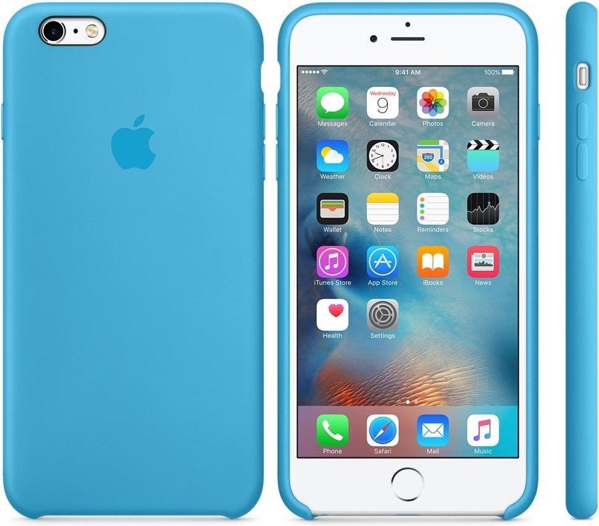 Apple Siliconen Back Cover voor iPhone 6Plus / iPhone 6s Plus - Blauw