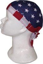 Bandana zakdoek Amerika USA thema - Amerikaanse feestartikelen