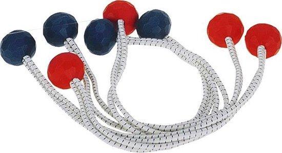 zeil bevestigers met plastic balletjes (lengte 40 cm, ? 4 mm) 4 stuks (GS60126)