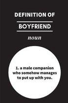 Definition of Boyfriend