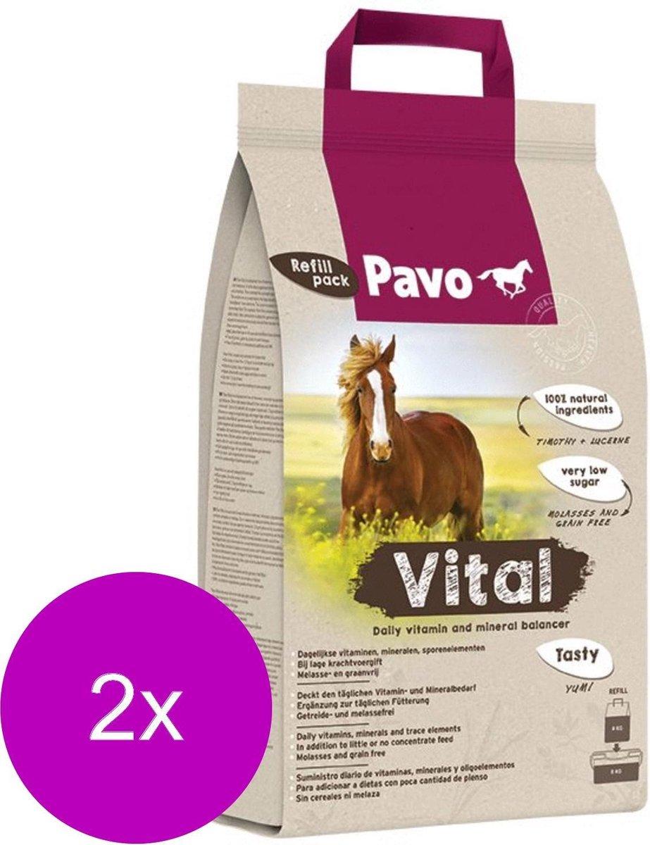 Pavo Vital Navulzak Emmer - Voedingssupplement - 2 x 8 kg