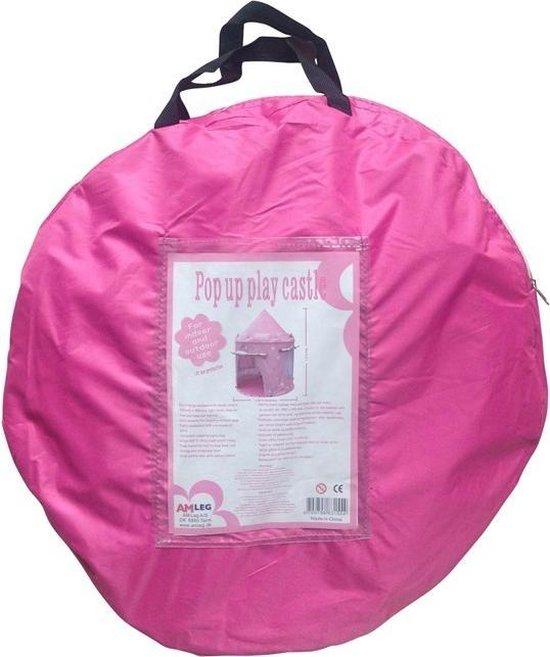 Amleg Prinsessenkasteel Roze - Speeltent