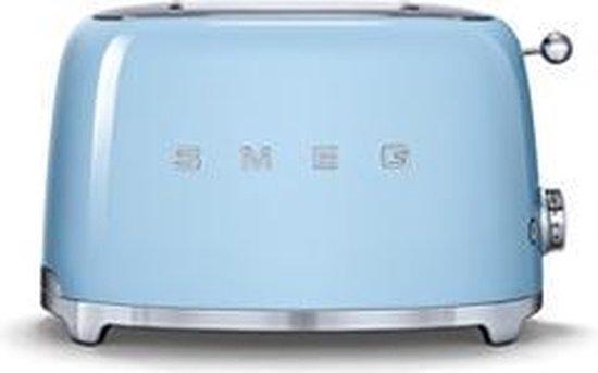 Smeg TSF01PBEU - Broodrooster - Blauw