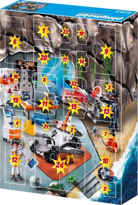 PLAYMOBIL Adventskalender Top Agents  - 9263