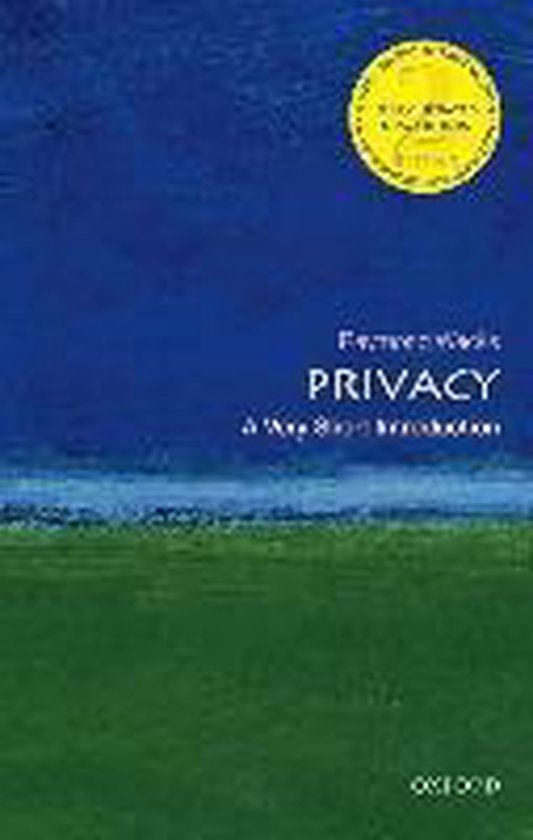 Boek cover Privacy van Raymond Wacks (Paperback)