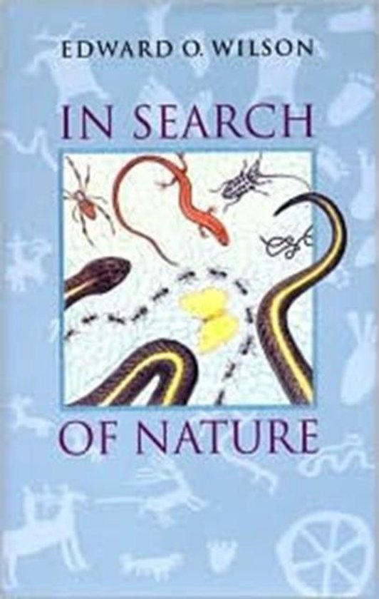 Boek cover In Search of Nature van Edward O. Wilson