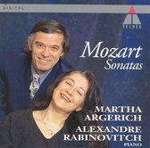 Mozart: Sonatas / Martha Argerich, Alexandre Rabinovitch