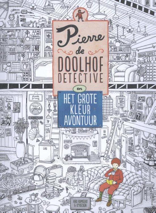 Pierre de doolhofdetective - Pierre de doolhofdetective en het grote kleuravontuur - Hiro Kamigaki |