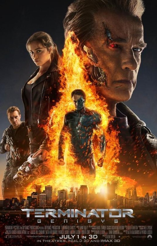 Poster Terminator Genisys filmposter