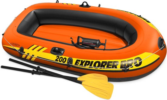 Intex Explorer Pro 200 Opblaasboot - 2 Persoons - Oranje