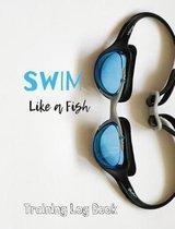 Swim Training Log Book