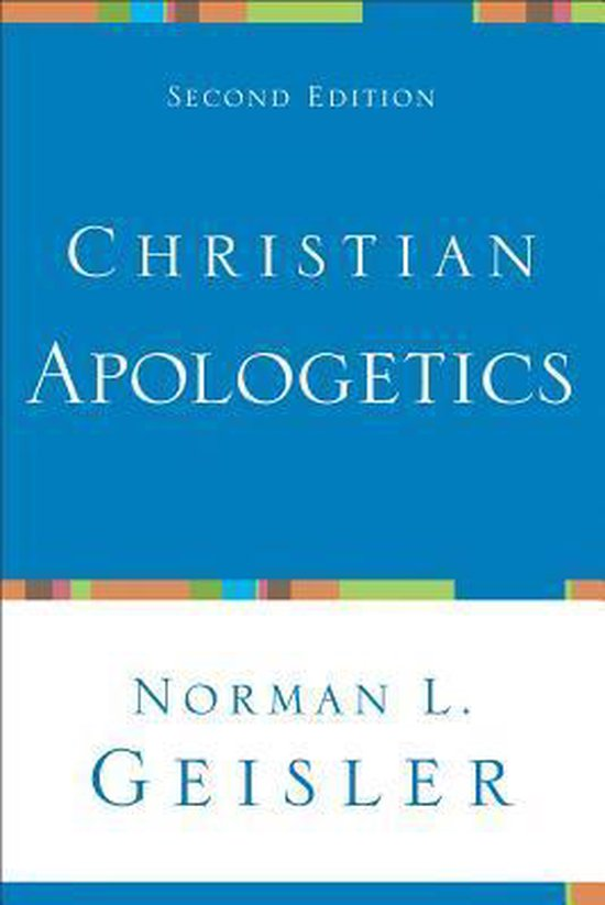 Boek cover Christian Apologetics van Norman L. Geisler (Paperback)