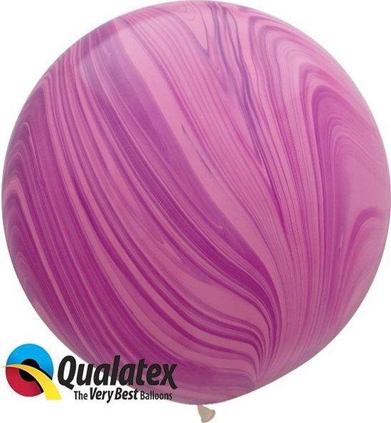 Marmer Print Pink Violet 75 cm (2 stuks)