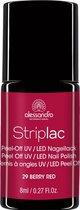 Alessandro Stiplac - 29 Berry Red - Gel nagellak