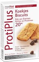 Modifast ProtiPlus Koekjes Sport Snack - Chocolade - 16 stuks