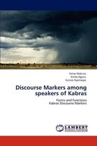 Discourse Markers Among Speakers of Kabras