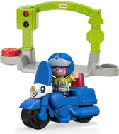 Fisher-price Little People Small Vehicle Motor Blauw 3-delig