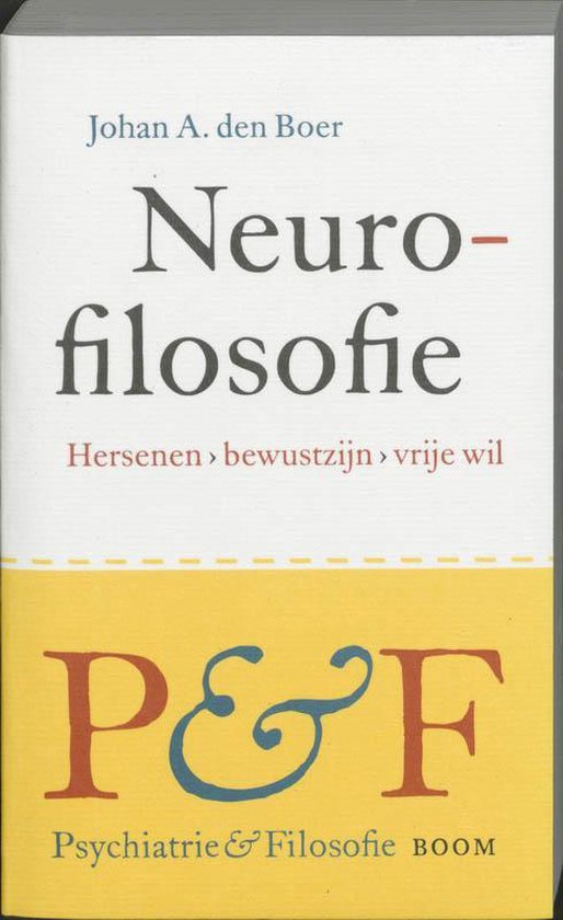 Neurofilosofie - J.A. den Boer  